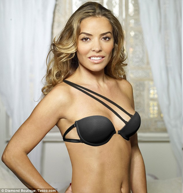 Elen Rives Revolutionary Tesco Diamond Bra