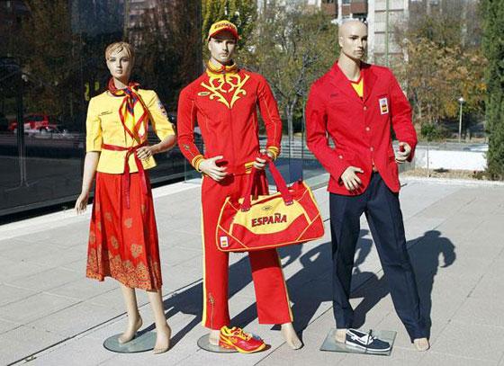 uniforme España olimpiadas Londres