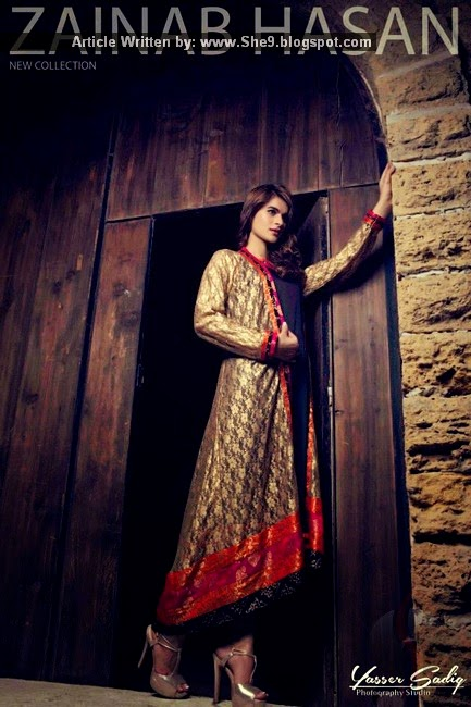 Zainab Hasan Winter Collection 2015