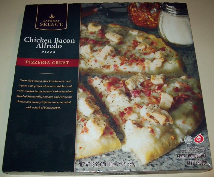 Home Cookin' – Safeway Select Ultra Thin Crust Pizza