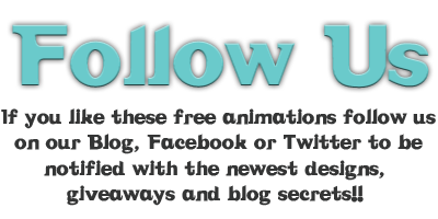 free cute blog animations
