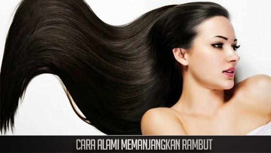 Cara Alami Panjangkan Rambut