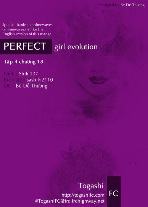 Perfect Girl Evolution chap 18 - Trang 1