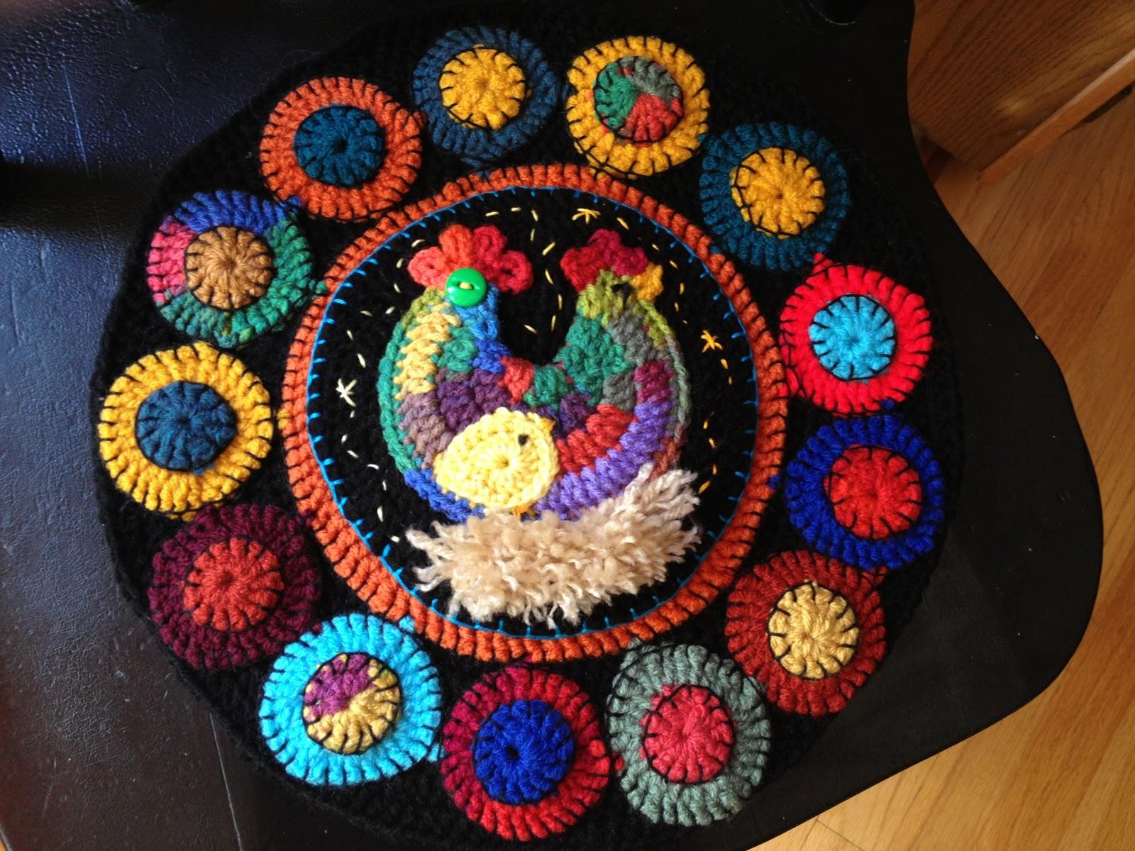 Fiddlesticks - My crochet and knitting ramblings.: Crochet Chicken ...