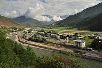 Paro Airport - Bird's Eye View