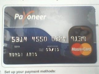 kartu payoneer saya 1