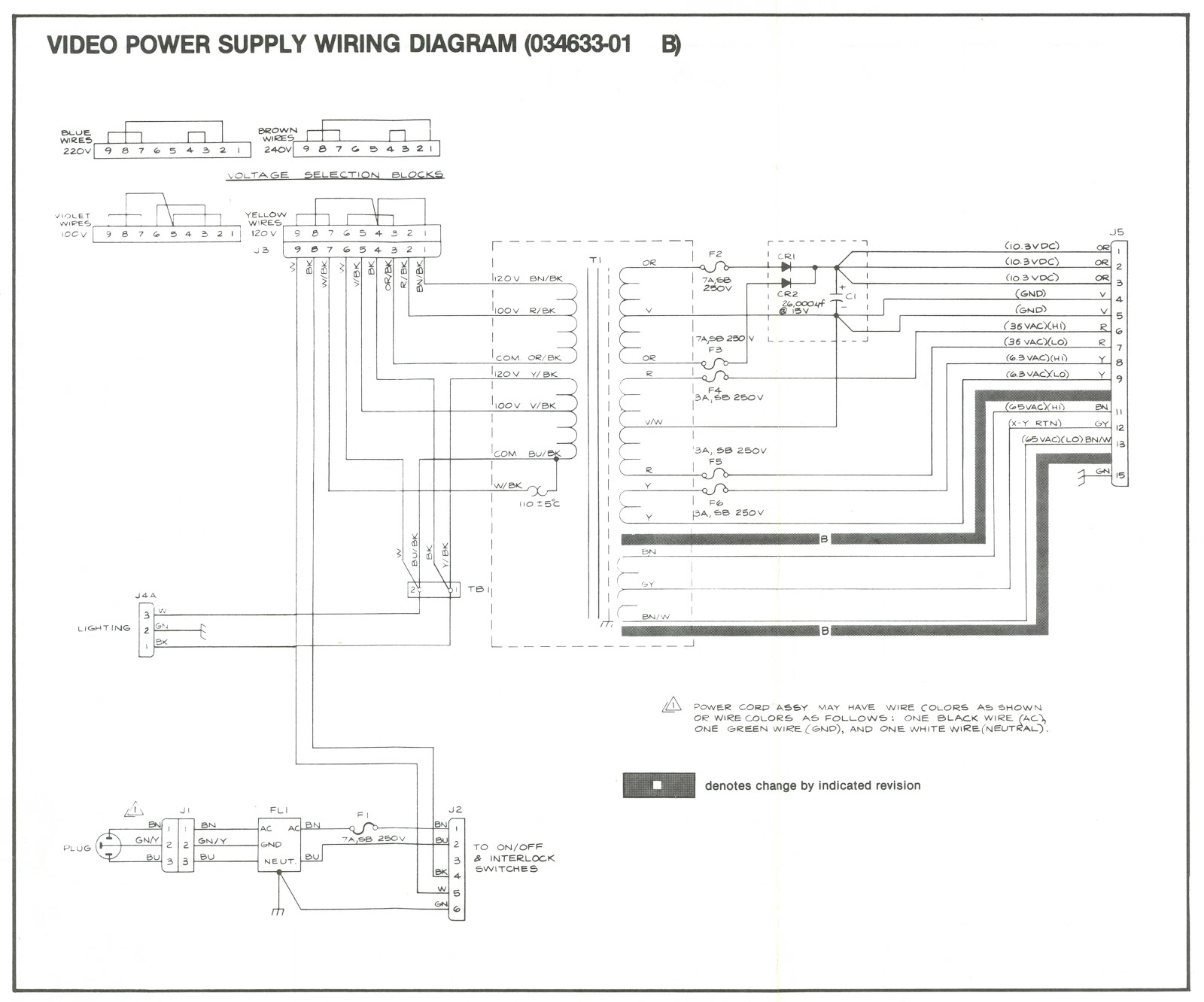 Power%2BSupply%2BWiring%2Bdiagram arcade and video game modding atari asteroids knee deep into arcade power supply wiring diagram at n-0.co