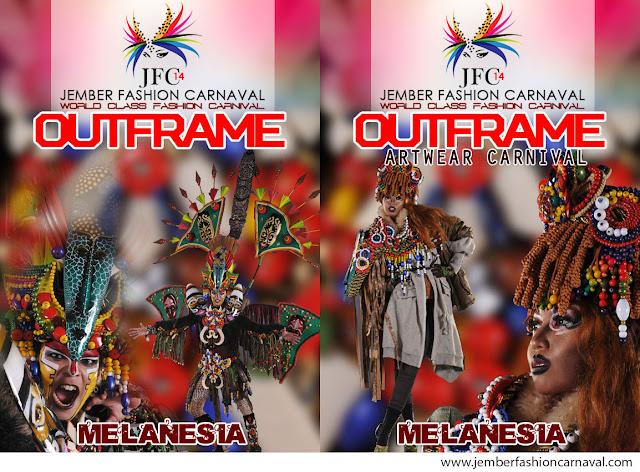 Jember Fashion Carnaval 2015 Defile Melanesia