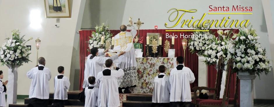 Missa Tridentina em Belo Horizonte