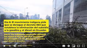 Huelga Nacional contra medidas económicas de Lenin Moreno