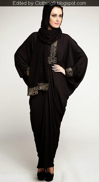 Adoreable Contrast Abayas