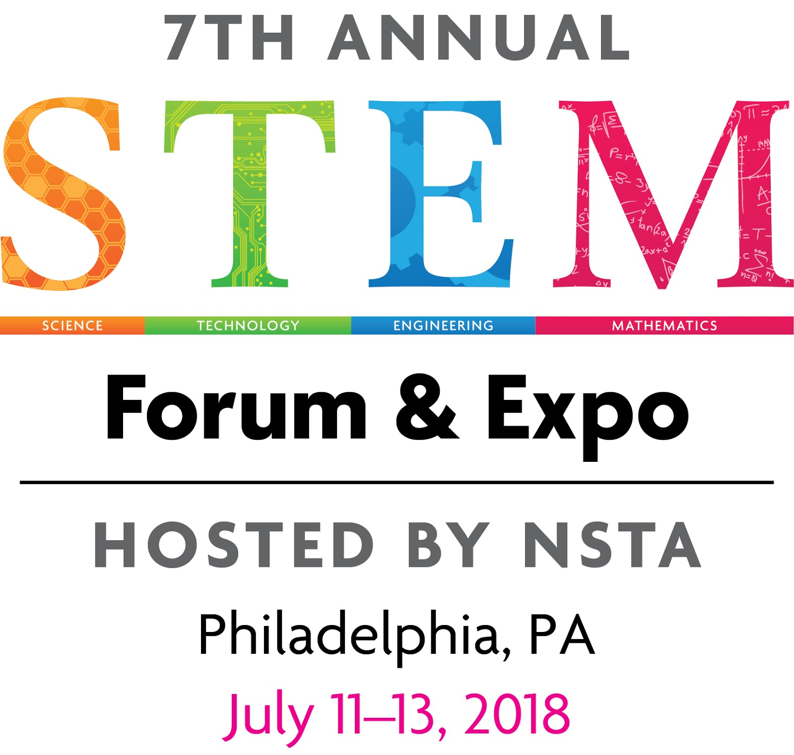 I'm presenting at the NSTA STEM Forum in Philadelphia