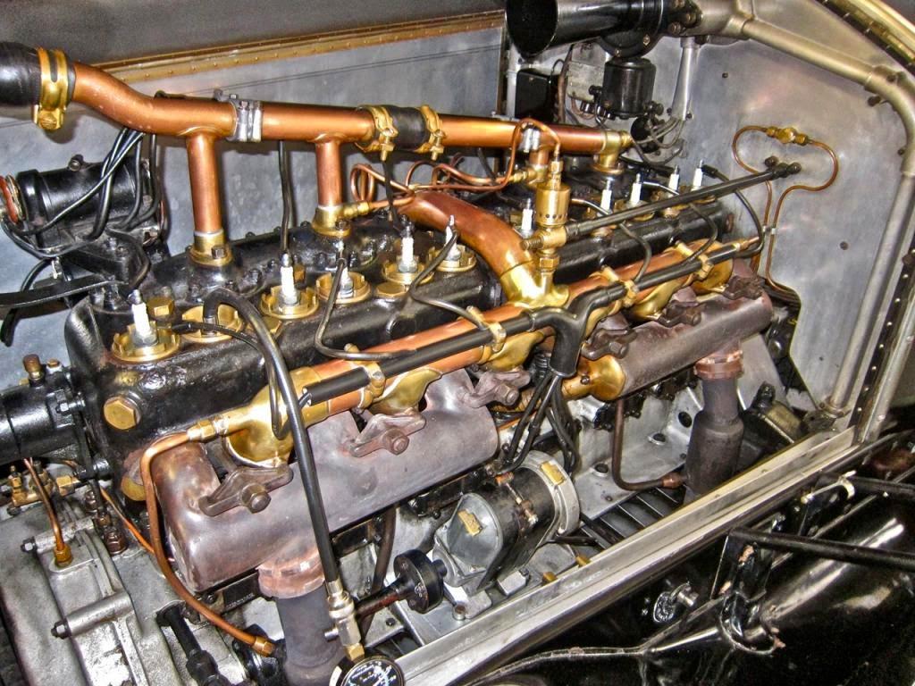 1924 rolls royce silver ghost auto restorationice for Rolls royce phantom motor