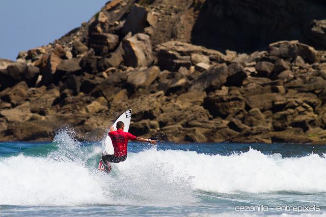 David Sastre en Playa España