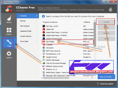 download aplikasi CCleaner versi full gratis