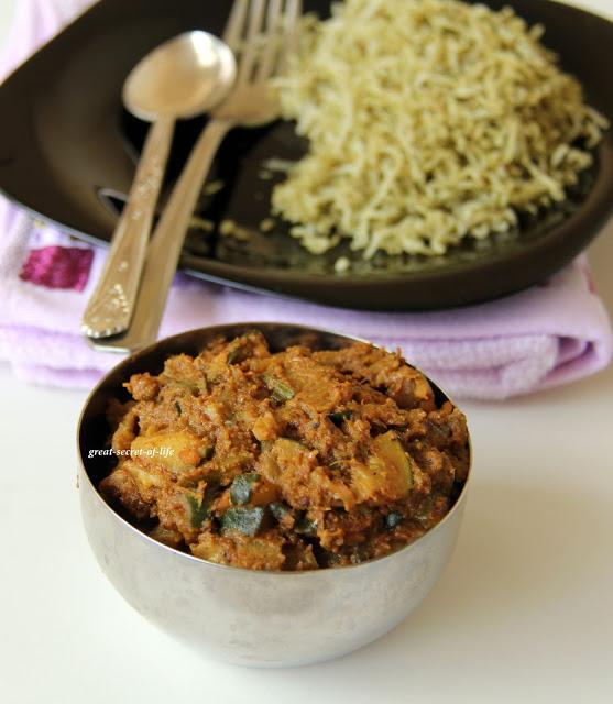 Zucchini Poriyal