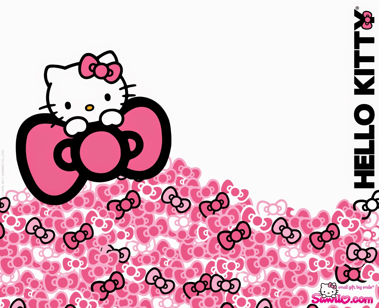 Pink Hello Kitty Wallpaper Is A Popular For Lover This Another Cute Picture In Color There Are Also White Background With