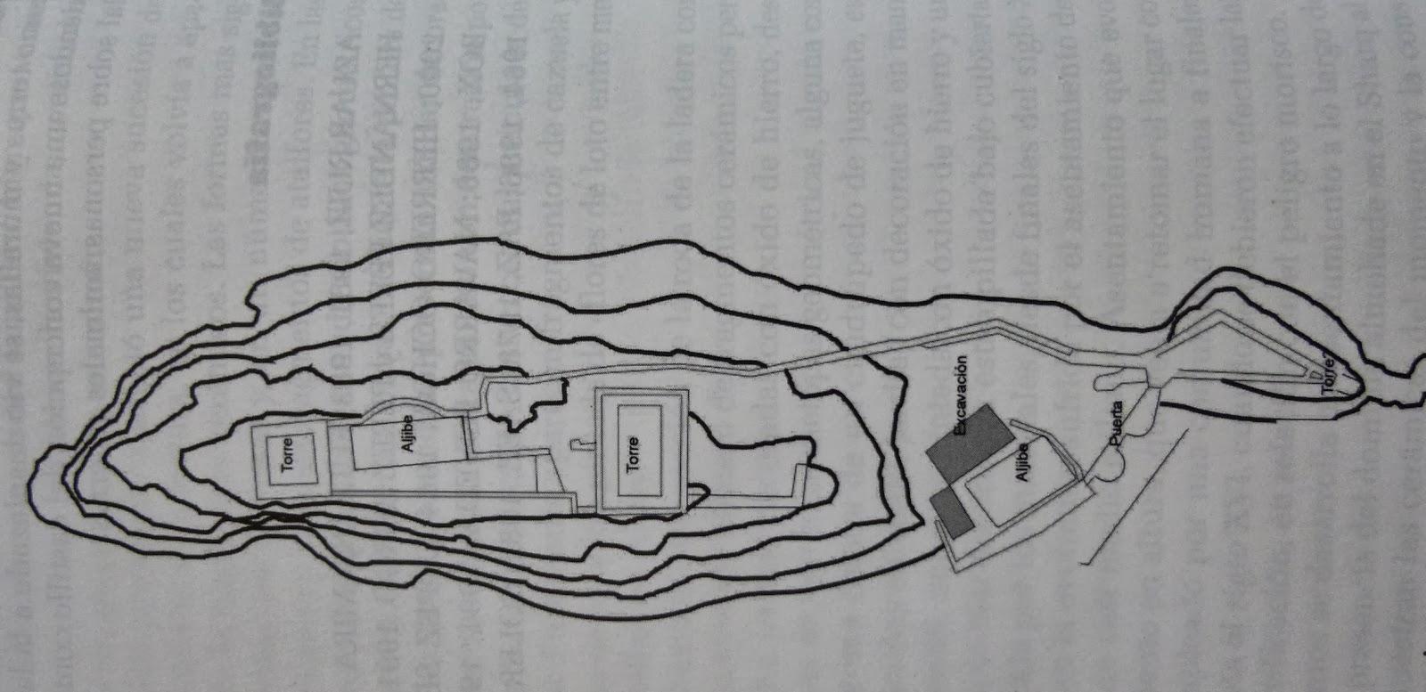 Gu a de los castillos torres y fortificaciones de - Plano de almansa ...