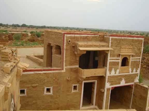 A house at abandoned village Kuldhara