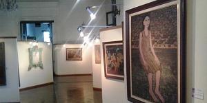 Lukisan yang merupakan Koleksi Museum Seni Rupa dan Keramik