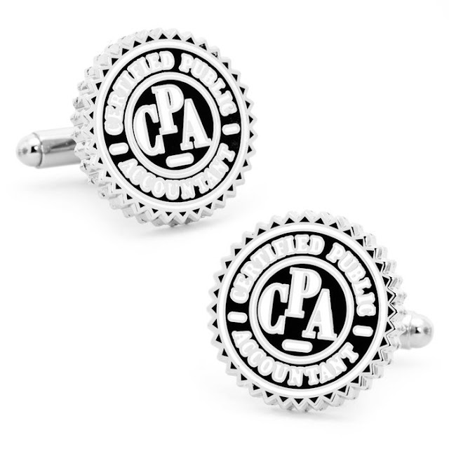 Accountant Cufflinks