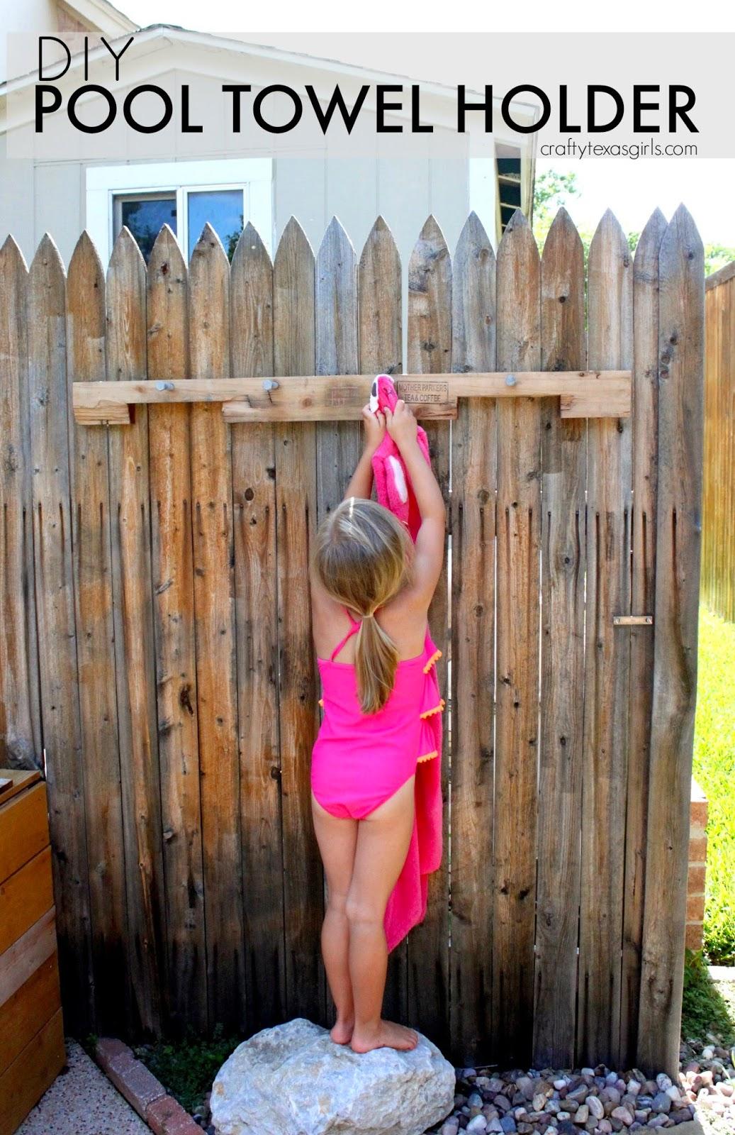 Outdoor Towel Rack