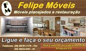 Chegou em Acopiara Felipe Móveis