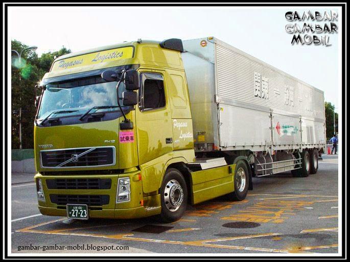 gambar mobil truk besar