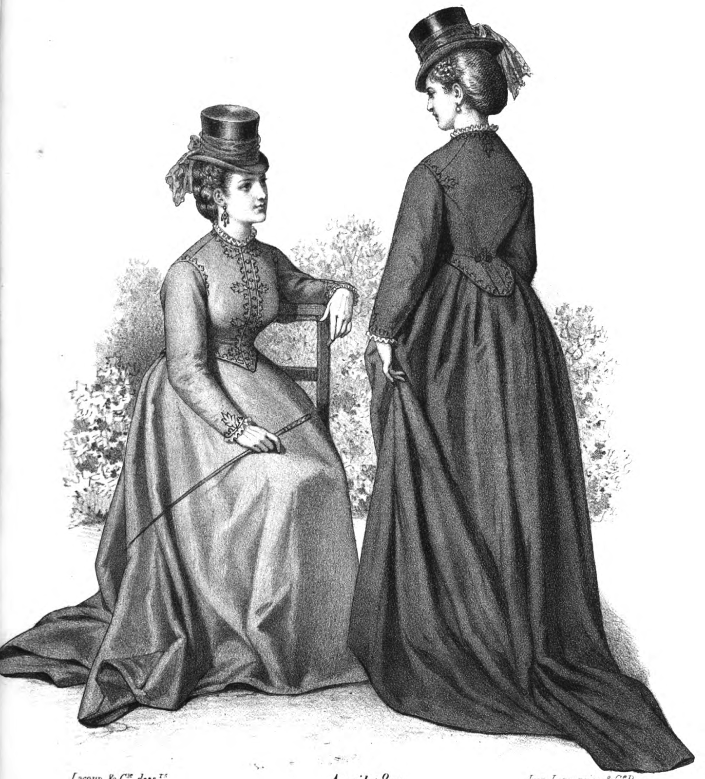 Historical: 19th Century Historical Tidbits: 1872 Historical Fashions