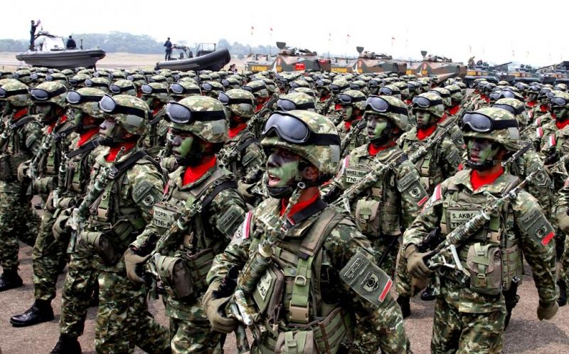Kekuatan personel TNI militer Indonesia