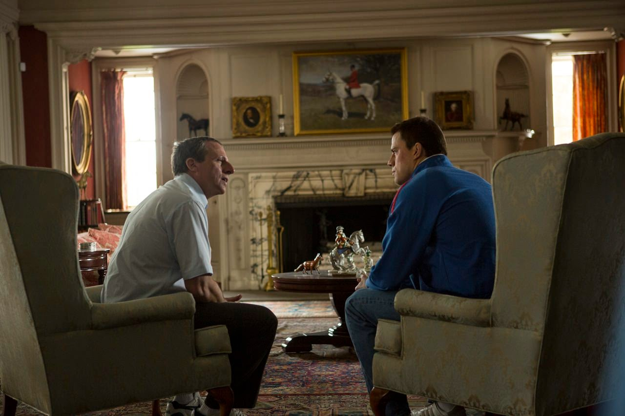 foxcatcher-steve carell-channing tatum