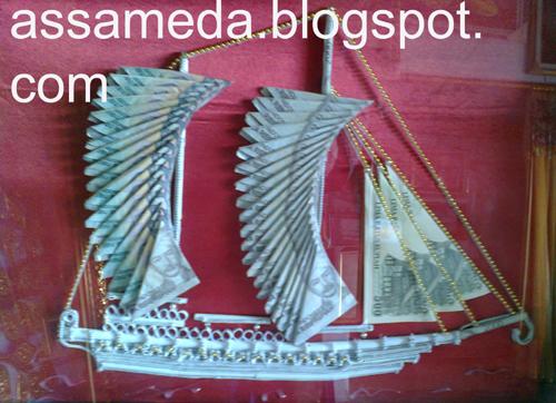 Rangkai Uang Mahar berbagai Model - Assameda