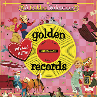 Golden Records for Valentines Day!