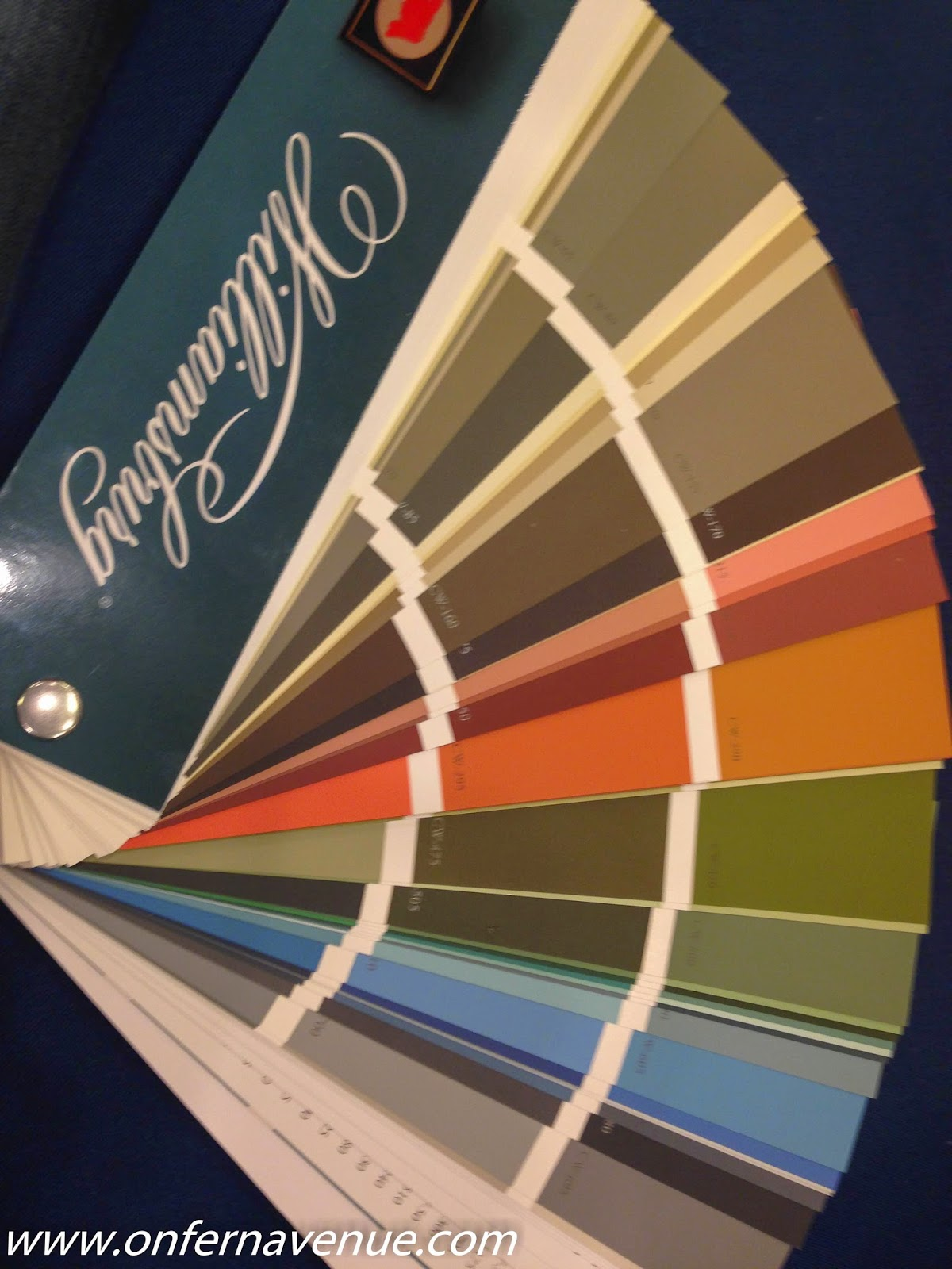 And, Then Where Benjamin Moore U0026 Colonial Williamsburg Teamed Up To Form  The Williamsburg Collection Consisting Of 144 Hues.