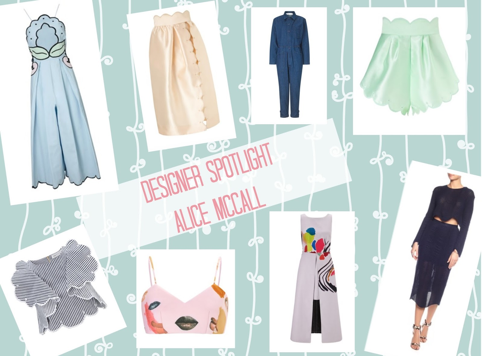 Australian designer Alice McCall