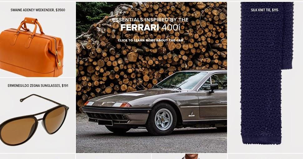 a6faa52b3217 Ferrari 400: Ferrari 400 Dress up essentials