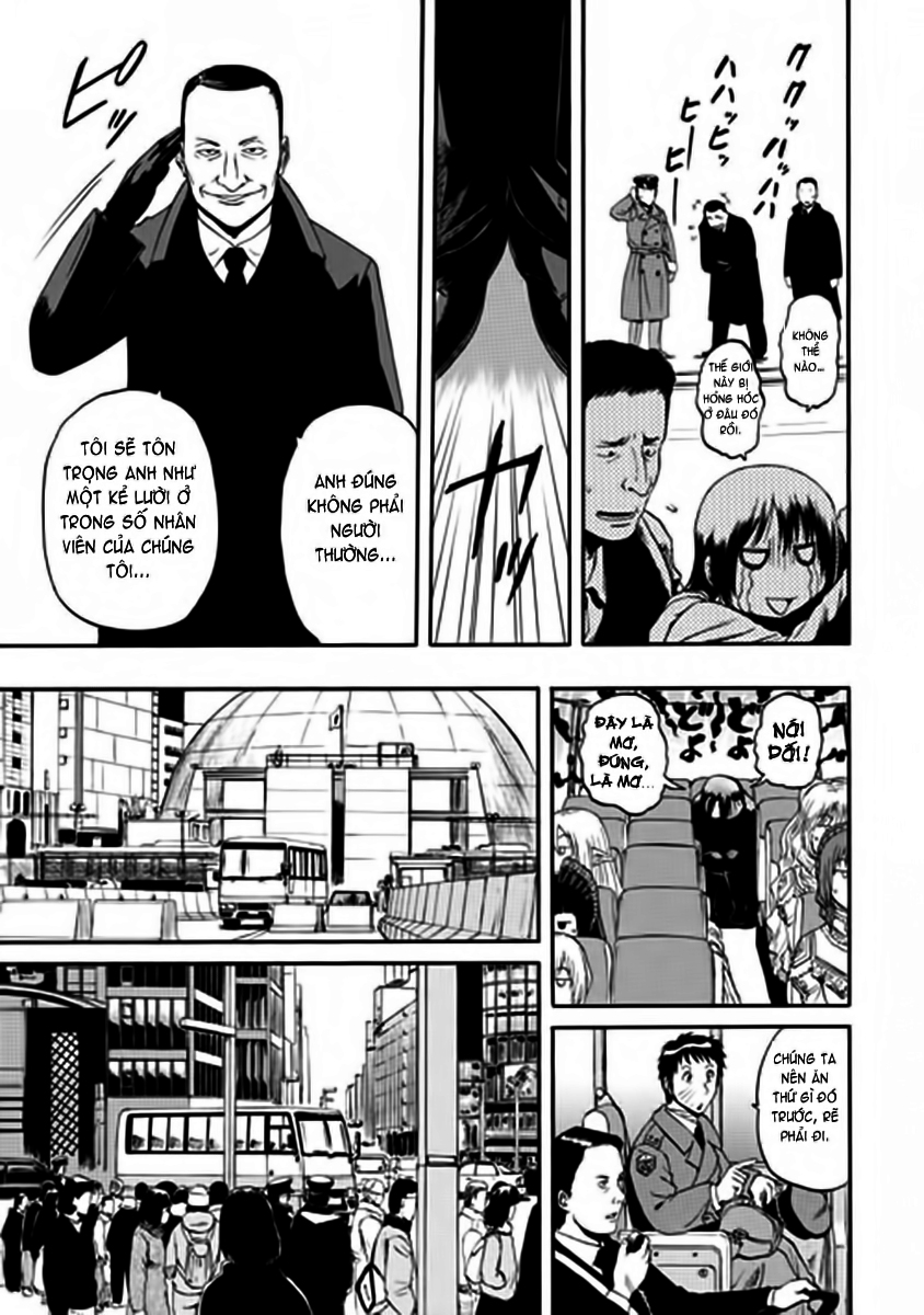 Gate – Jietai Kare no Chi nite, Kaku Tatakeri chap 17 Trang 10 - Mangak.info