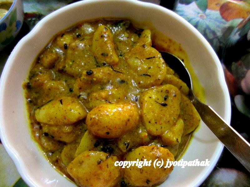 Taste of nepal february 2013 aloo ko achaar potato salad forumfinder Images