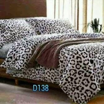 sprei leopard skin pojokhandmade.com