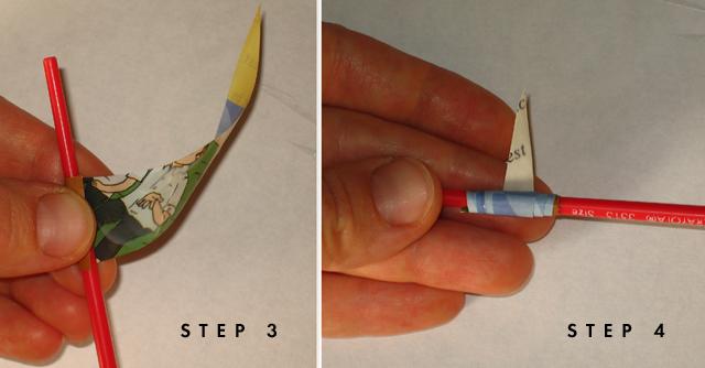 Cuentas para collares con papel reciclado de regalo por Recicla Inventa