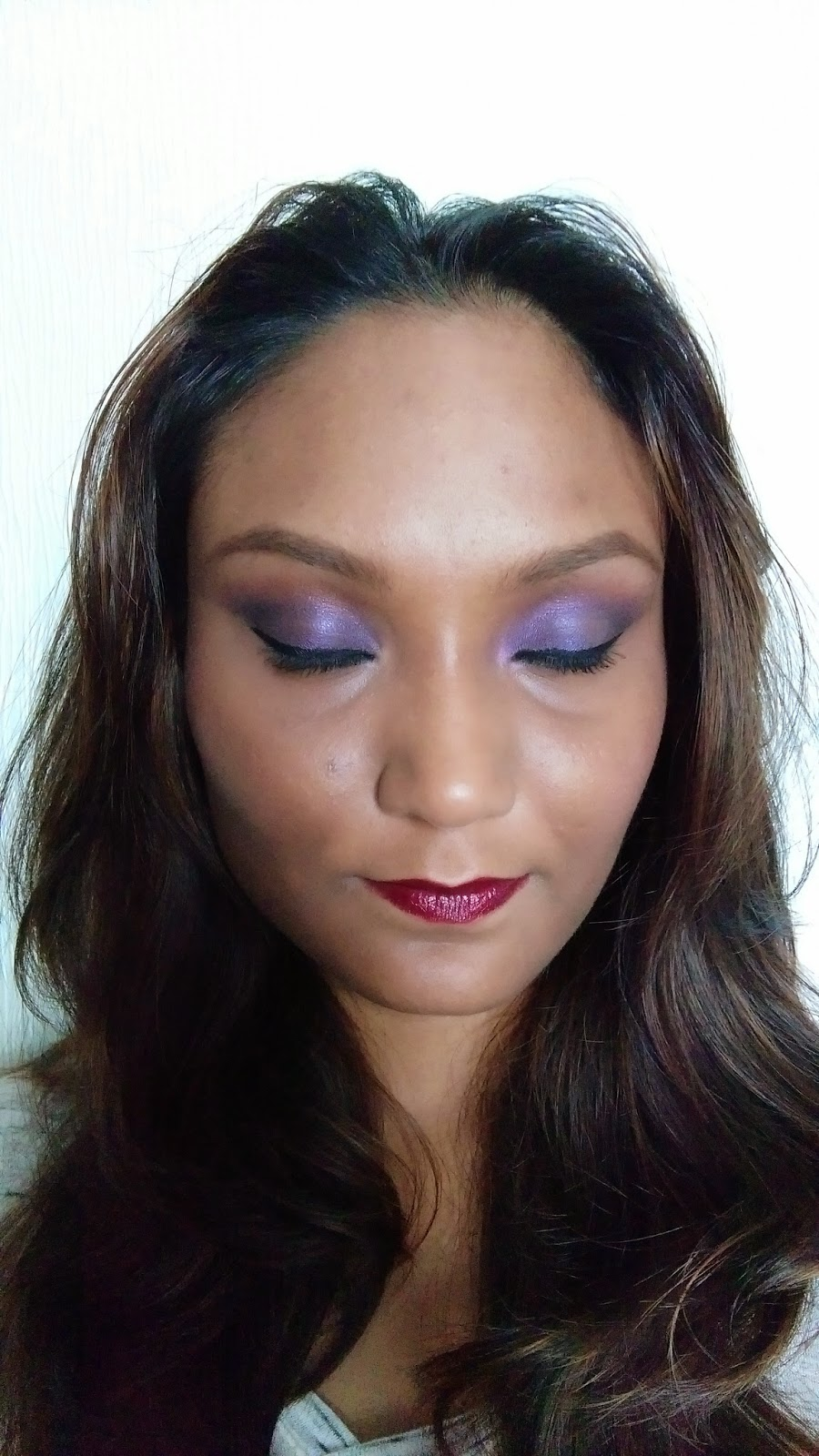 FACE OF THE DAY | PURPLE EYES