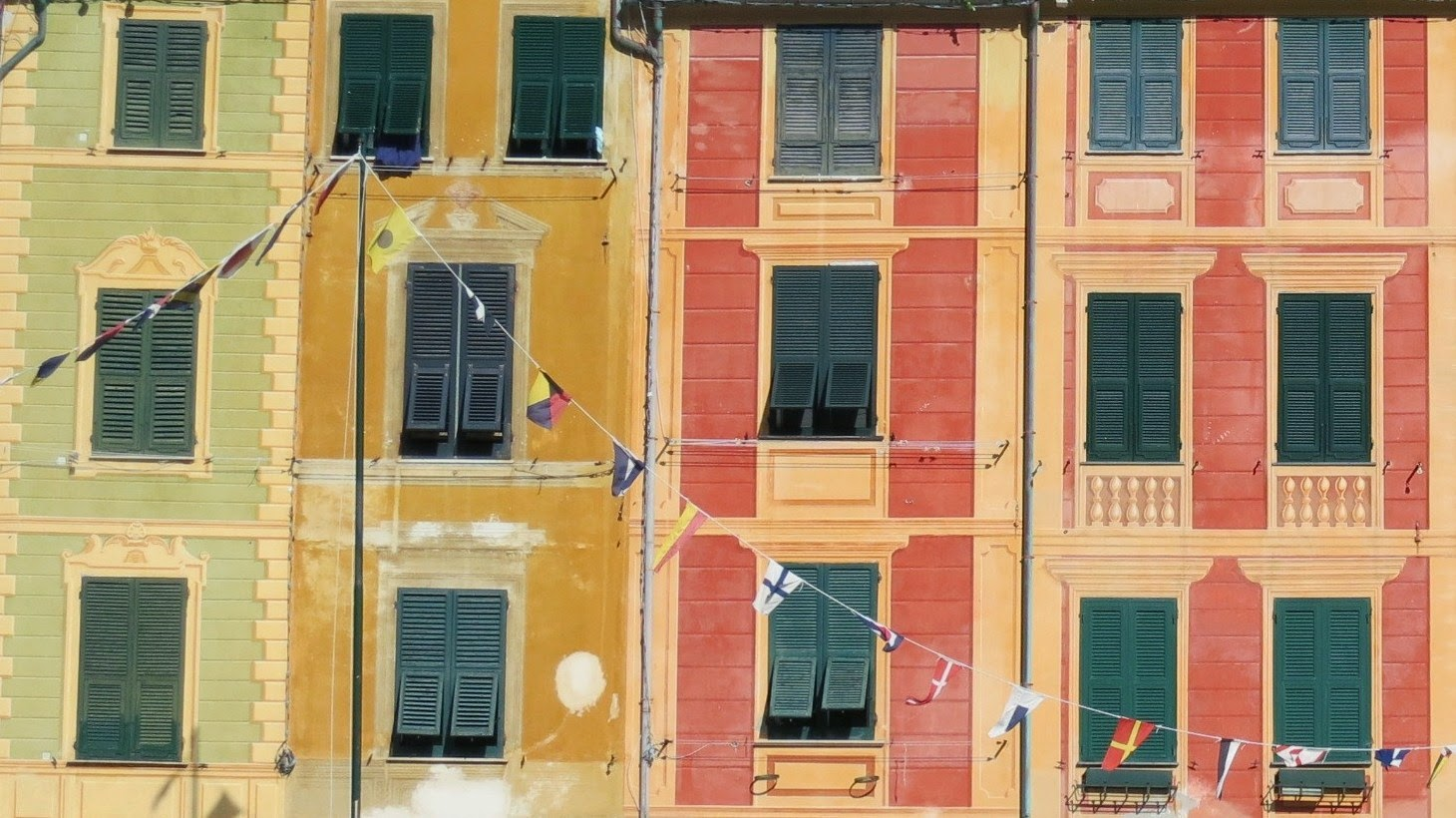 Portofino Colorful Ligurian Buildings
