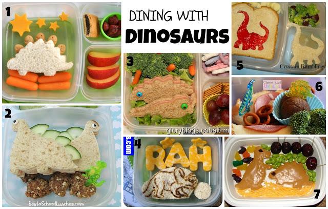 Dinosaur Bentos