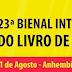 Guia sobre a 23º Bienal Internacional do Livro de São Paulo