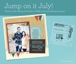 Jump on it July!!