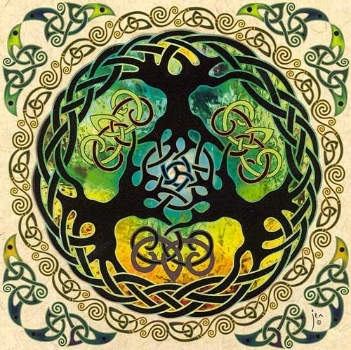Yggdrasil Art A Note of Friendship: ...