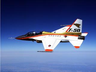 Pesawat Tempur T-50 Golden Eagle - 7 Pesawat Buatan Indonesia Komersial dan Tempur - www.iniunik.web.id