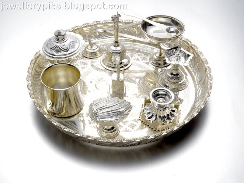 Pearl Jewellery Necklace >> Silver jewllery by JosAlukkas - Latest Jewellery Designs