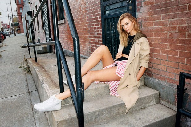 Karlie Kloss in Topshop