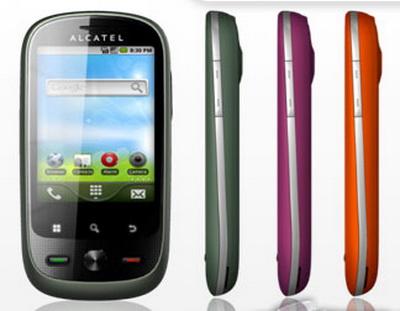 Celular Alcatel OT-890 onetouch (pantalla táctil)